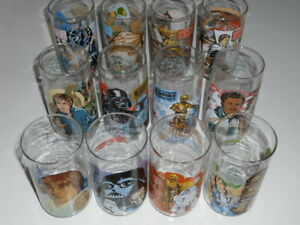 Star-Wars-Vintage-Glasses-Complete-Set-Of-12-SW-ESB-ROTJ