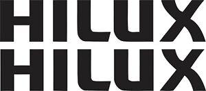 Hi-Lux-Stickers-2-x-150mm-x-30mm-Quality-Marine-Grade-Material