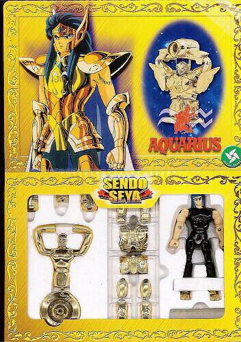 Sendo Seya Saint Seiya Myth Cloth Die-Cast Vintage Action Figure Aquarius Camus
