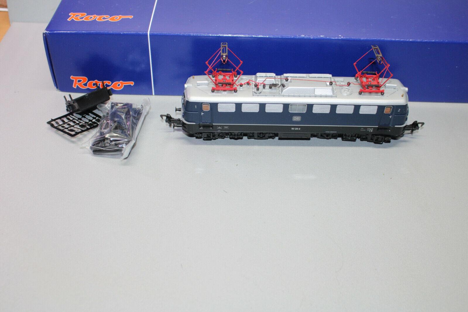 Roco 62493 Romualdo Serie Br 110 1260 DB Blu Dss Scala H0 Conf. Orig.