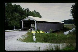 Covered-Bridge-in-Pike-County-Indiana-in-1968-Original-Slide-aa-3-15b