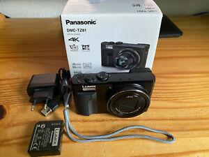 Panasonic LUMIX TZ81 Kompaktkamera - Schwarz