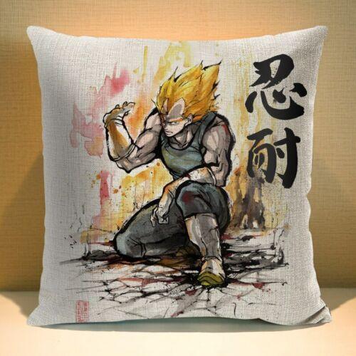 Watercolor Star Wars Darth Vader Pillow Case Cartoon Linen 45*45 cm Dragon Ball
