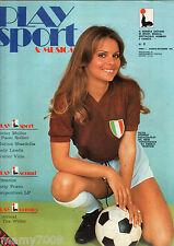 PLAYSPORT & MUSICA=N° 0 1976=BEATLES=SILVIA DIONISIO=TEX=MOTO=MUSICA=PATTY PRAVO