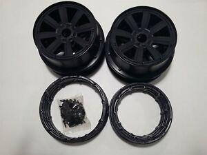 Jantes Mad Max à 8 rayons avec camion Beadlocks pour Km X2 & Losi 5ive 1 / 5th Rc 7426829704388