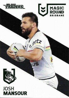 2020 NRL Traders Magic Round Parallel Card JOSH MANSOUR ...