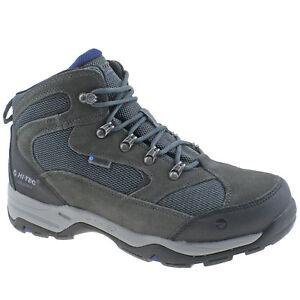 w sprzedaży hurtowej nowy design super tanie Details about MENS HI-TEC STORM II WP CHARCOAL GREY/BLUE WATERPROOF HIKING  WALKING BOOTS