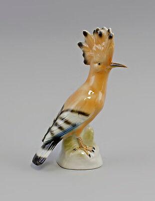 Discreto 9942632 Wagner & Apel Porcellana Personaggio Upupa H19cm-