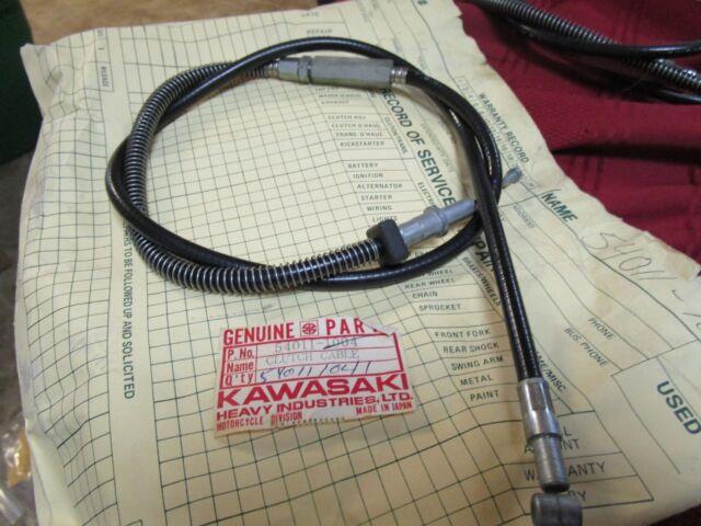 Clutch Cable G5 100 1974-75 Kawasaki NOS NEW  #54011-1041