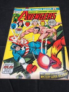 The-Avengers-Comic-Book-117-Marvel-Comics-Group-1973-UNGRADED-Boarded-Bagged