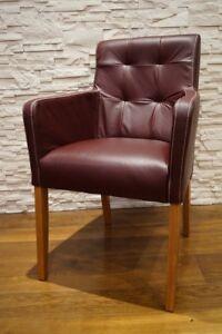 Weinrot Echt Leder Stuhle Esszimmerstuhle Lederstuhle Stuhl Mit