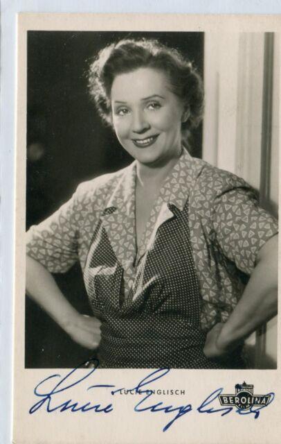 Lucie Englisch+ - original signierte KuB Autogrammkarte A 374
