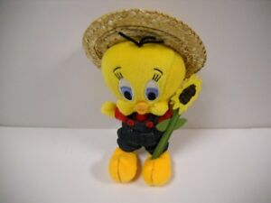 Marvelous Details About Warner Brothers Studio Store Tweety Bird Sunflower Bean Bag Plush 1999 Rare Vhtf Alphanode Cool Chair Designs And Ideas Alphanodeonline