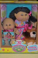 Cabbage Patch Kids Family Portrait 30thanniv 3pc Alanna Madelyn / Brenna Amy