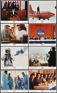 Capable The Right Stuff Original 1983 Color Lobby Still Set Nasa Astronauts/fred Ward Lobby Cards
