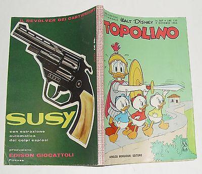 walt disney - TOPOLINO n. 567 - 9 ottobre 1966