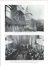 1905 King Oscar Opening Kiksdag Chateau Of Sofiero