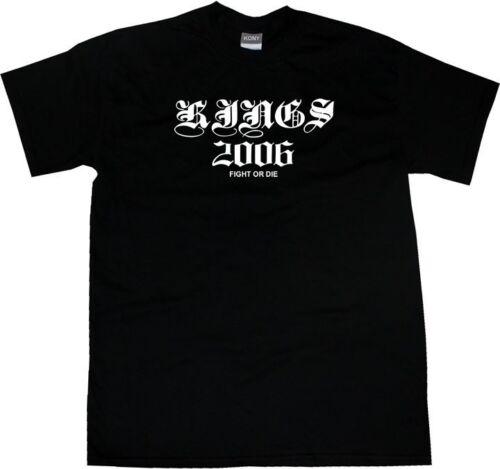 Kings Of NY KINGS 2006 Ancient Goth Graphic Tee Short Sleeve T-Shirt Black