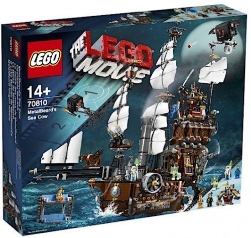 LEGO MOVIE METALBEARD'S SEA COW IL GALEONE DI BARBACCIAIO FUORI PRODUZIONE 70810