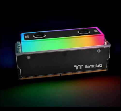 Thermaltake  Pacific A1 DDR4//DDR3 RAM Memory Water Block CL-W239-CA00SW-A