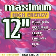 """High Energy 12"""" by Various   CD   condition good"""