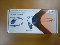 Atlona At-vga180asr Vga Extender With Audio Over Cat5 Up To 600ft Free Shipping
