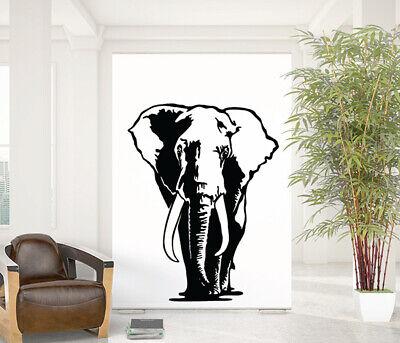 Elephant Wall Decal Removable Sticker Vinyl Decor Art Savanna Africa Safari Cute Ebay