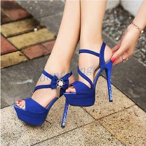 Sexy-Womens-Open-Toe-Shoes-Sandals-Slingbacks-Platform-Stiletto-High-Heels-Size