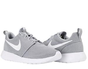pretty nice add01 f6e9c Image is loading Nike-Roshe-One-Wolf-Grey-White-Men-039-