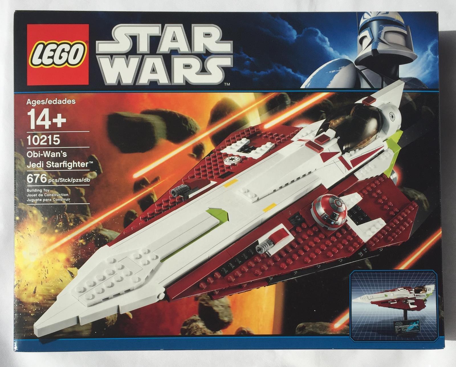 Star Wars LEGO Obi-Wan's Jedi Starfighter (10215) NEW MINT