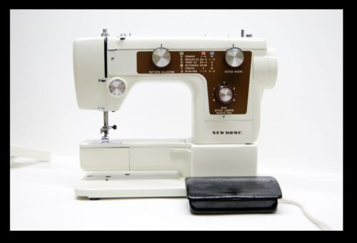 Janome Nuevo Hogar Modelo 641 y 642 máquina de coser manual de instrucciones folleto