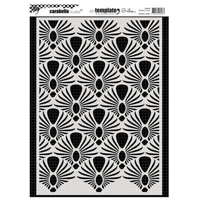 """Carabelle Studio Round Mask 6/""""-Flower Carpet"""