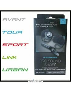 BE Kit Audio Pro-Sound SHOEI Interphone Avant Tour Sport Link Urban