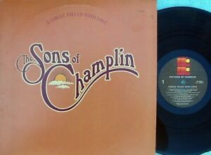 Sons-Of-Champlin-ORIG-US-LP-A-circle-filled-with-love-EX-76-Ariola-Soul-Funk