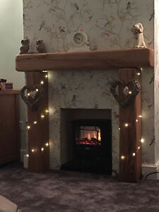 Rustic Oak Fire Surround Made To