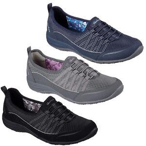 Skechers-Unity-Go-Big-Scarpe-Memory-Foam-Elastico-Yoga-Donna-Ballerine-Piatte