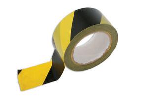 Laser Tools 4725 Hazard Warning Tape 33m x 50mm