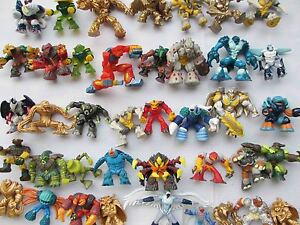 Random-lot-of-15-Gormiti-The-Lords-of-Nature-Return-pvc-Figures-Ki8