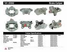 Disc Brake Caliper-Premium Semi-Loaded Caliper Rear Left Centric 141.35502 Reman