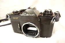 Canon EF 35mm SLR Film Camera Body Only vintage fully working
