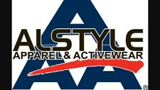 1301 Alstyle Apparel Activewear AAA T shirts 1 Dozen, White Only, Size: S-XL