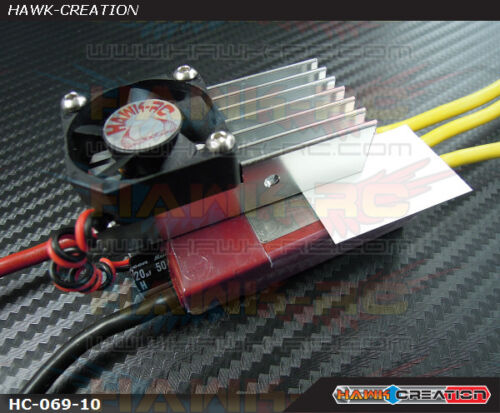 10mm Fan Hawk Cooler XL Heatsink For Kontronik ESC