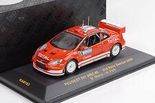 2005 Peugeot 307 WRC #8 2nd Rally Sweden / Martin / Park 1:43 IXO Altaya