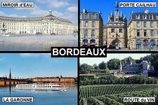 SOUVENIR FRIDGE MAGNET of BORDEAUX FRANCE