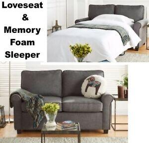 Astonishing Details About Gray Loveseat Sofa Sleeper Memory Foam Mattress Grey Sofa Beds Small Spaces Customarchery Wood Chair Design Ideas Customarcherynet