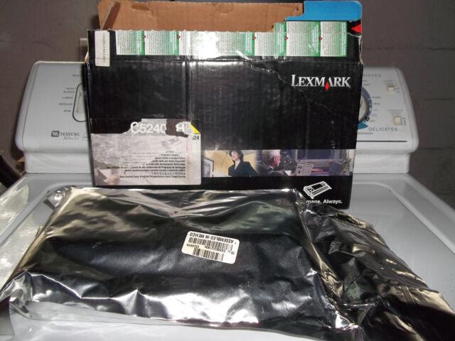 Lexmark C5240YH Yellow High Yield Return Program Toner Cartridge Open Box