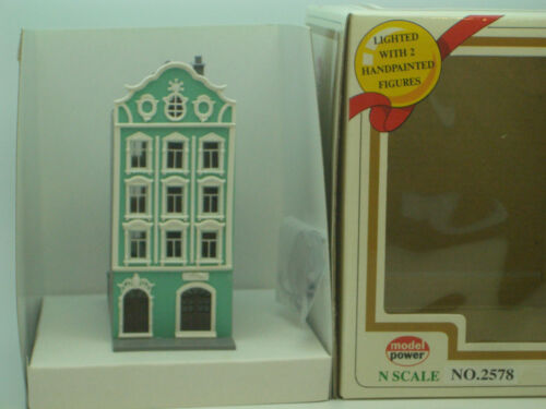 PODIATRIST or HOTEL 2578 3 FOR $10.00 N SCALE MODEL POWER 4-STORY  BUILDING