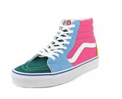 Vans Sk8 Hi Lite Pewter SuedeCanvas Women Shoes Sneakers [B