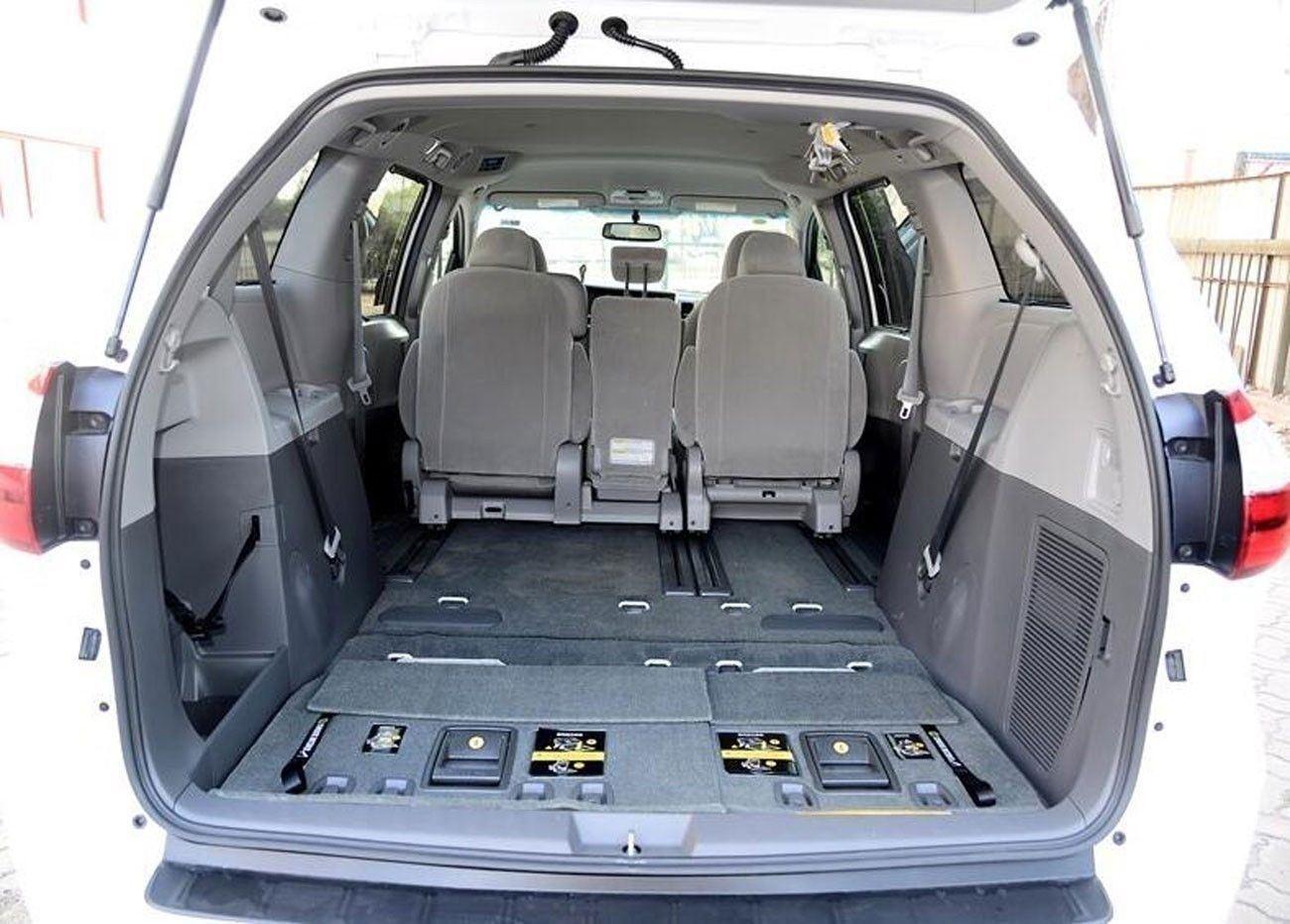 Cargo Net Envelope Style Trunk Storage Organizer Net for Honda Pilot 2016 2017 2018