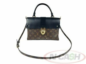 BIDSALEONLY-AUTHENTIC-2595-LOUIS-VUITTON-One-Handle-Flap-Bag-MM-Bag
